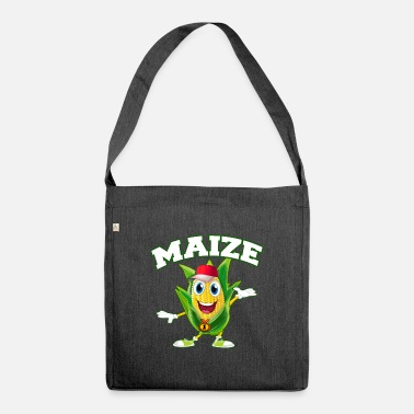 Maize maize corn popcorn Seller tee tshirt i love best - Shoulder Bag recycled
