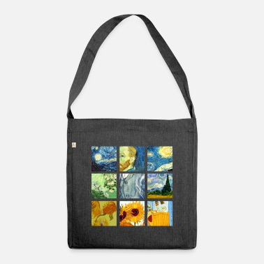 Graphic Art Van Art Gogh Graphic - Shoulder Bag recycled