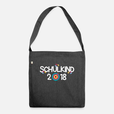 First Day Of School Schoolchild enrollment elementary school gift idea - Shoulder Bag recycled