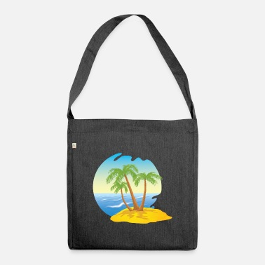 Island island - Shoulder Bag recycled