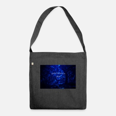 Get the fuck out of my mind - Shoulder Bag recycled