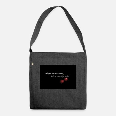 Cherry - Maybe you are smart - Shoulder Bag recycled
