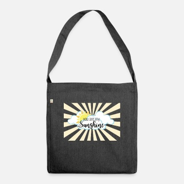 You Are My Sunshine - Shoulder Bag recycled