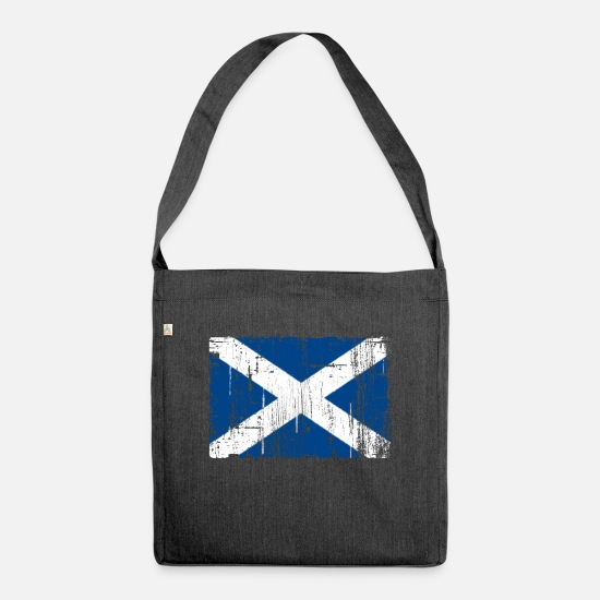 Dirty Bags & Backpacks - Scotland - Shoulder Bag recycled heather black