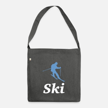 ski - Shoulder Bag recycled