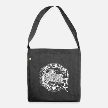 Rock And Rider rock and rider motorcycles - Bolsa de tela reciclado