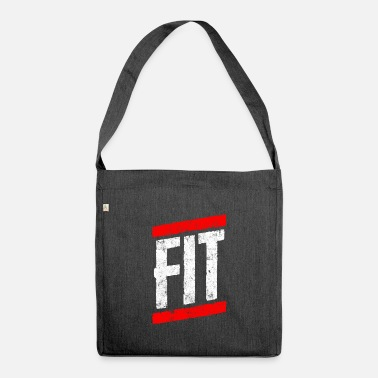 Fitness Fitness fit - Shoulder Bag recycled