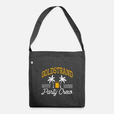 Golden Sands Party Crew - Shoulder Bag recycled