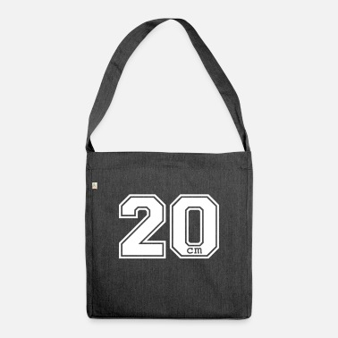 Husband 20 centimeter - Shoulder Bag recycled