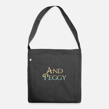 Hamilton And Peggy! - Shoulder Bag recycled