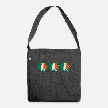 Uk Underwear ♥ټ☘Kiss the Irish Shamrocks to Get Lucky☘ټ♥ - Shoulder Bag recycled