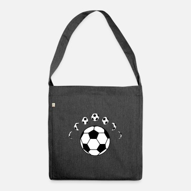 Soccer ball - Shoulder Bag recycled