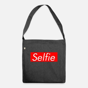 Selfie Selfie - Shoulder Bag recycled