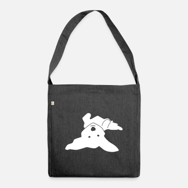 Havanese on his back - Shoulder Bag recycled