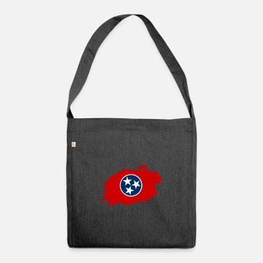 Tourist Tennessee flag flag USA - Shoulder Bag recycled