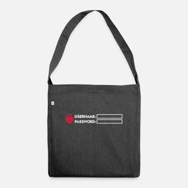 Mandapeno Access Denied (2c) - Shoulder Bag recycled