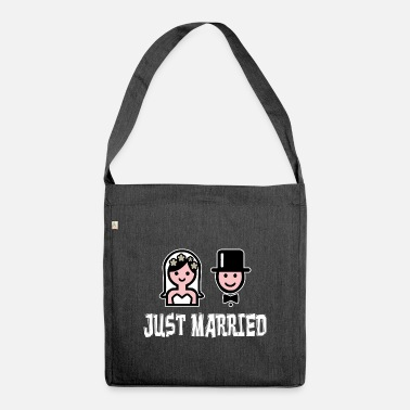 Marriage Just Married Marriage Marriage Marriage Marriage Love - Shoulder Bag recycled