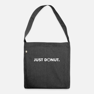 Just JUST DONUT BLACK AND WHITE - Shoulder Bag recycled