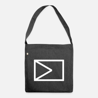 Governor Governor construction icon - Shoulder Bag recycled