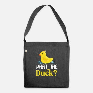Yellow Rubber Duck Quack Duck - Shoulder Bag recycled