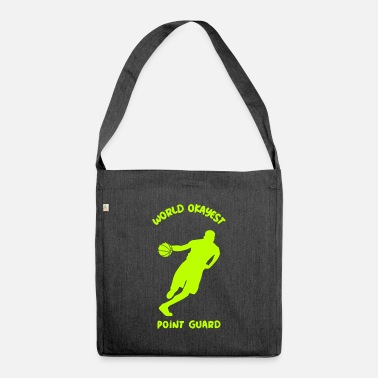 Pool Funny Point Guard Crossover Moves Outfit - Shoulder Bag recycled