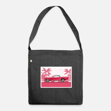 Car Retro car - Shoulder Bag recycled