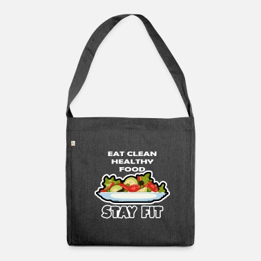 Eat Clean Eat Clean - Shoulder Bag recycled