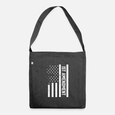 1st 1st Amendment - Shoulder Bag recycled