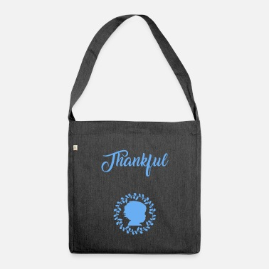 Thankful Thankful - Umhängetasche aus Recyclingmaterial
