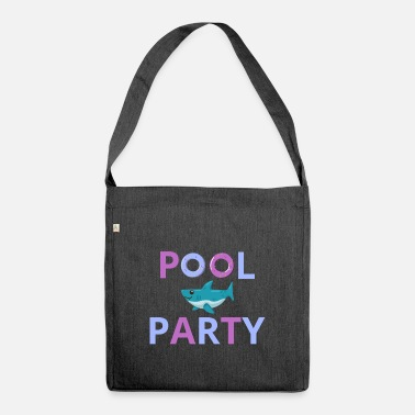 Pool Pool Party Pool Outdoor Pool - Shoulder Bag recycled