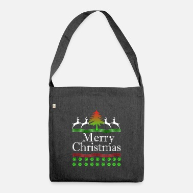 Merry Christmas Merry Christmas - Merry Christmas - Shoulder Bag recycled