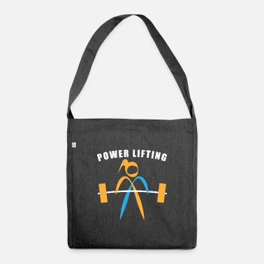 Power Lifting Power Lifting - Shoulder Bag recycled