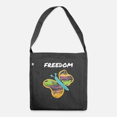Freedom FREEDOM - FREEDOM - Shoulder Bag recycled