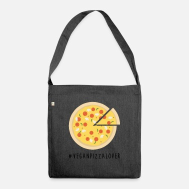 Vegan Pizza Lover - Shoulder Bag recycled