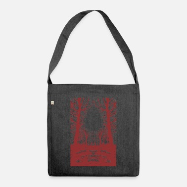 Contract But Art Forest ring - Shoulder Bag recycled