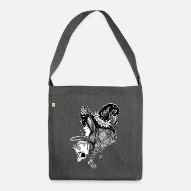 Witch Witch witch - Shoulder Bag recycled