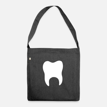 Tooth tooth - Shoulder Bag recycled