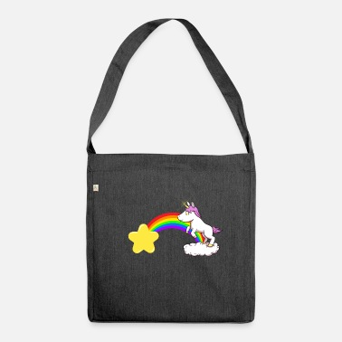 Rainbow Unicorn Unicorn Rainbow Unicorn Rainbow - Shoulder Bag recycled
