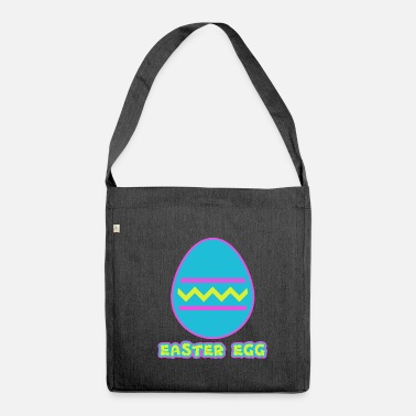 Easter Egg Easter Egg - Easter egg - Shoulder Bag recycled