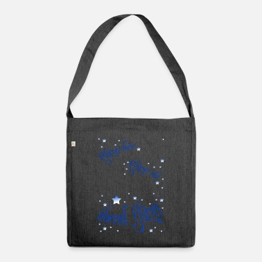 Glitter Glitter here glitter there - Shoulder Bag recycled