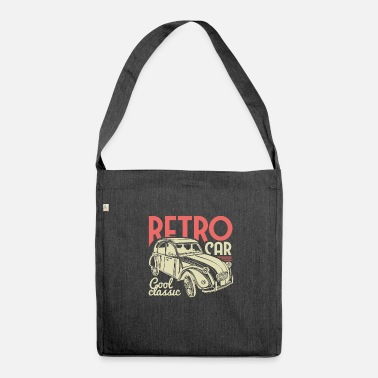 Vintage Collection Retro Car - Classic! - Shoulder Bag recycled