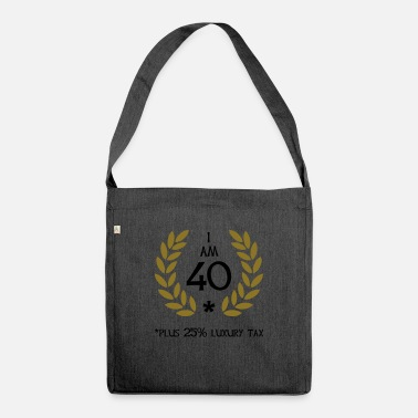 Age 50 - 40 plus tax - Shoulder Bag recycled