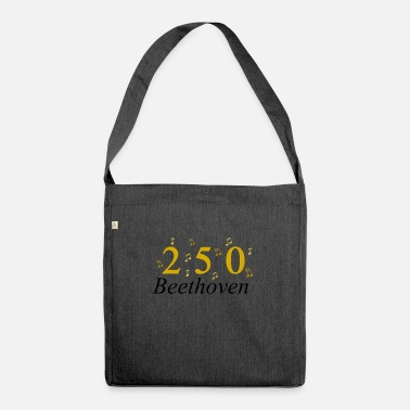 250 Years 250 Years of Beethoven music, Birthday - Shoulder Bag recycled