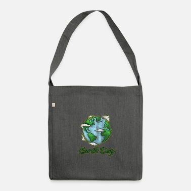 Earth Day Earth Day - Earth Day - Shoulder Bag recycled