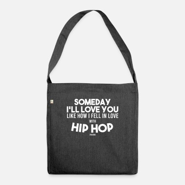 Dance Instructor Hip hop rap gangster music love saying - Shoulder Bag recycled