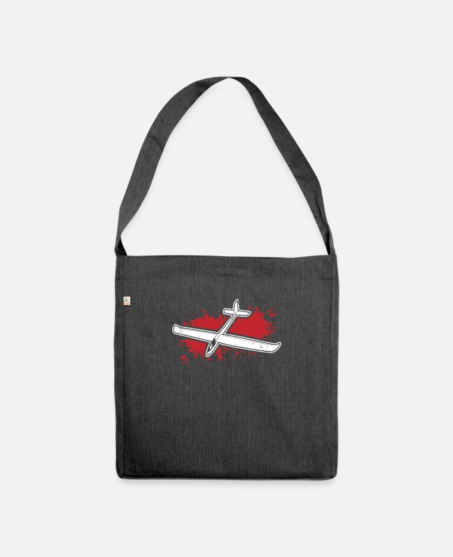 Passed Bags & Backpacks - Gliding - Shoulder Bag recycled heather black