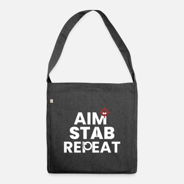 Repeater Aiming Repeat Repeat - Shoulder Bag recycled