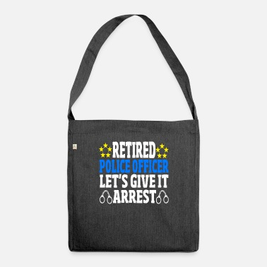 Police Inspector Policeman Police Retirement Profession Gift - Shoulder Bag recycled