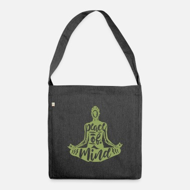 Meditation Meditation meditate - Shoulder Bag recycled