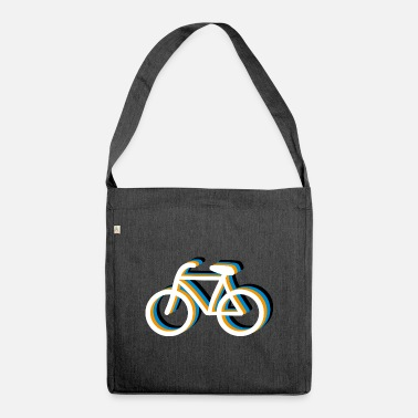 Bicycling Bicycle bicycle - Shoulder Bag recycled